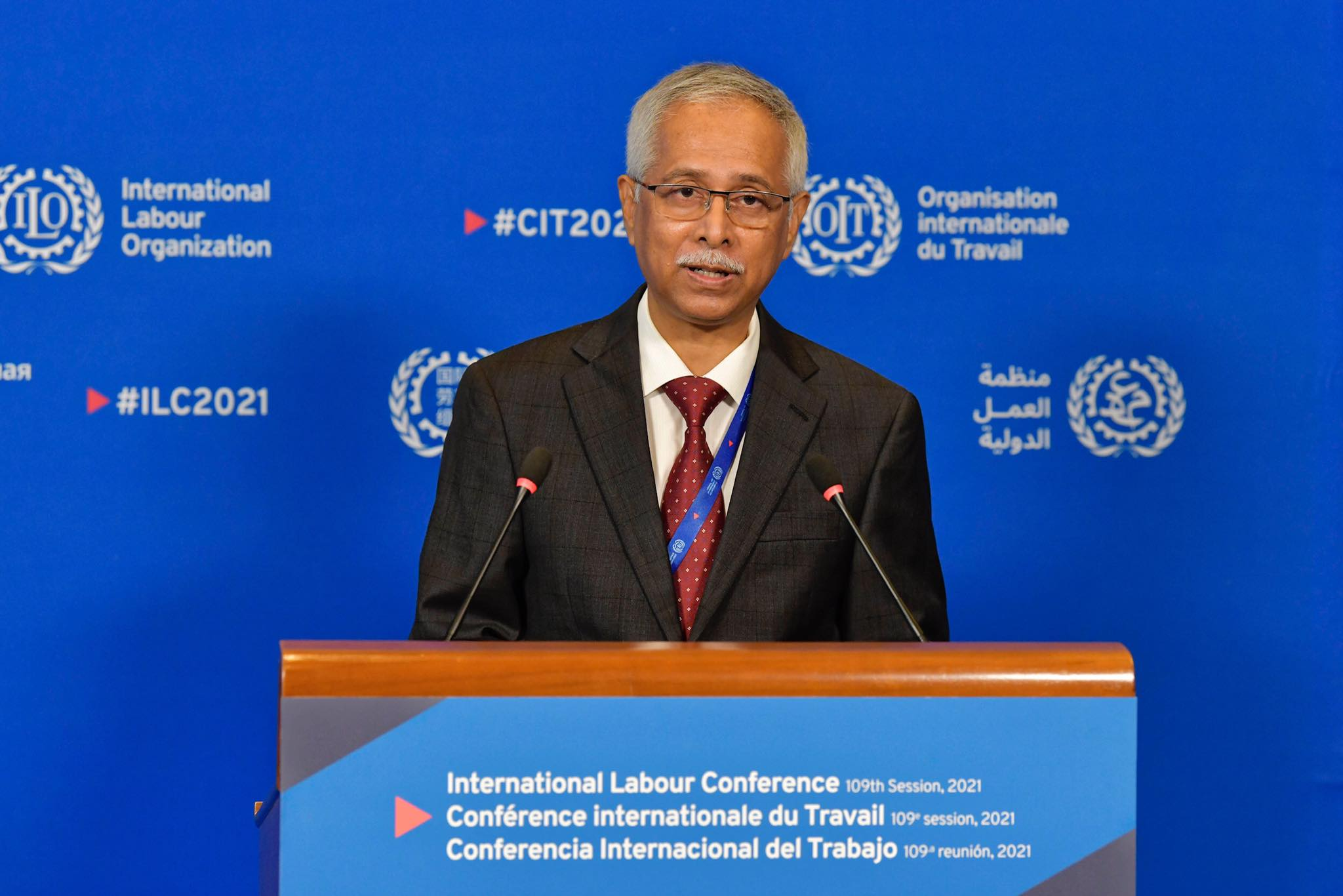 Bangladesh leads Covid Response Committee in International Labour Conference