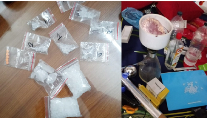 61 held in anti-drug raids in the capital