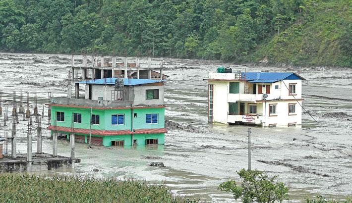 Death toll rises as floods hit Bhutan, Nepal