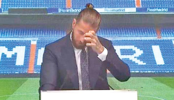 Ramos says goodbye to Real Madrid