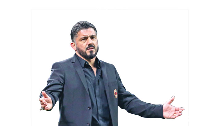 Gattuso quits as Fiorentina coach three weeks after appointment