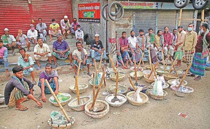 Corona pandemic: Day labourers worst sufferers