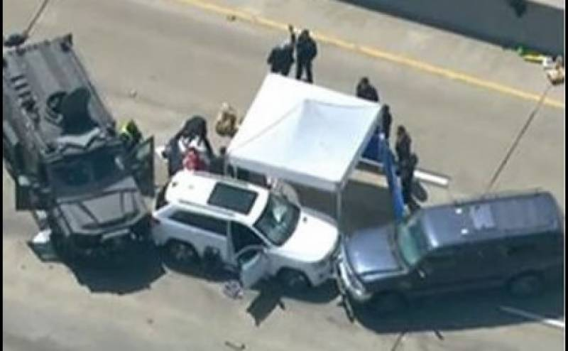 One killed, dozen injured in US drive-by shooting spree