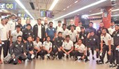 Nat'l booters return home
