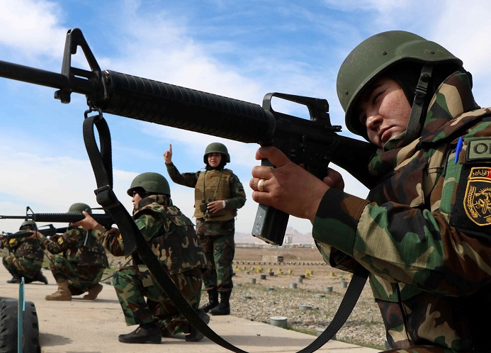 The long feared civil war seems to have already broken out in Afghanistan, and it threatens to get messy