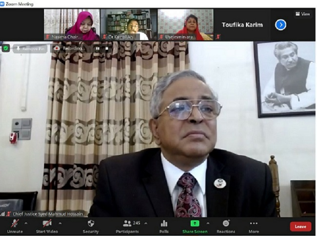 Chief Justice directs quick disposal of women, children rape cases