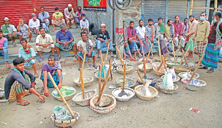 Corona pandemic: Day labourers worst affected