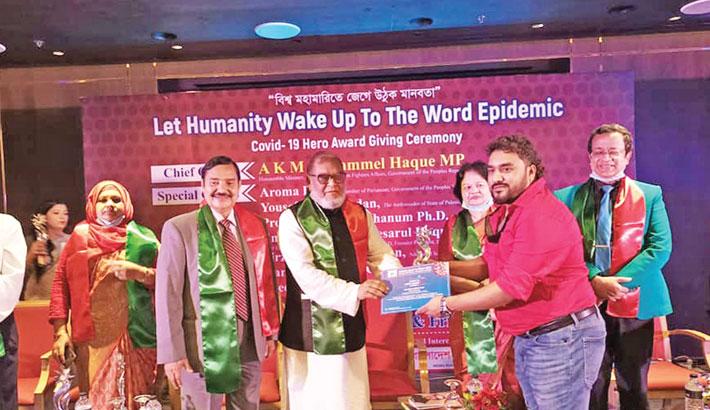 Fardin gets 'Covid-19 Hero award'