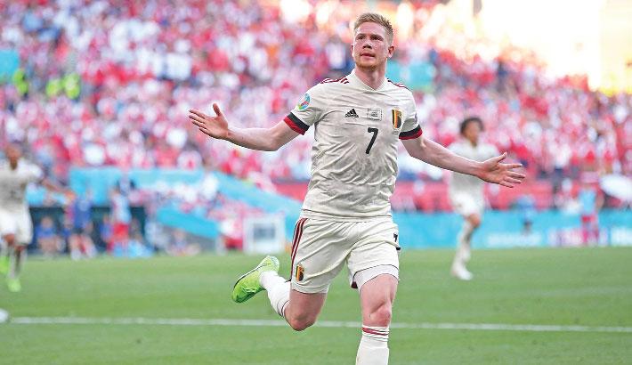 Belgium, Netherlands into Euro last 16