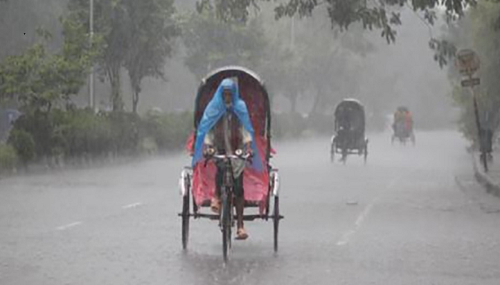 Full fledge Monsoon showers drench Dhaka and most of the country