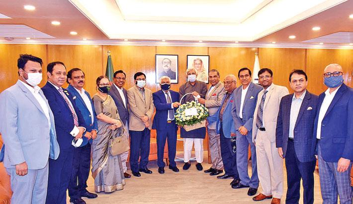 Chambers leaders meet FBCCI President