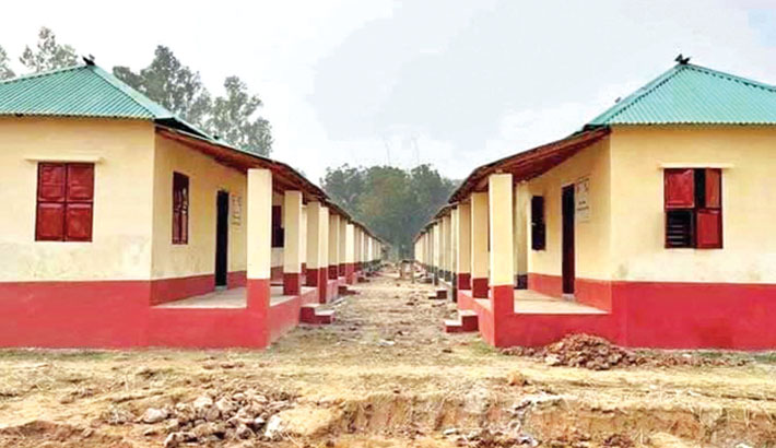 1430 homeless families to get houses in Gaibandha