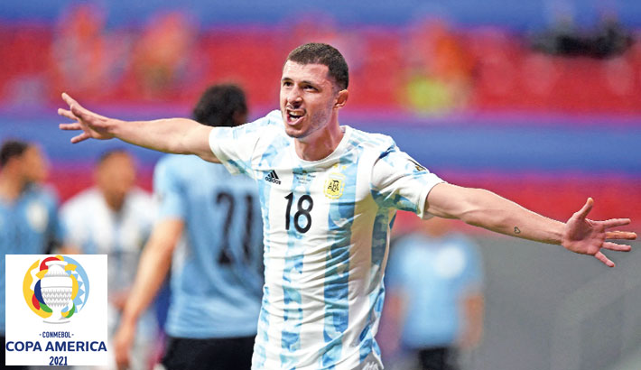 Rodriguez header secures win for Argentina