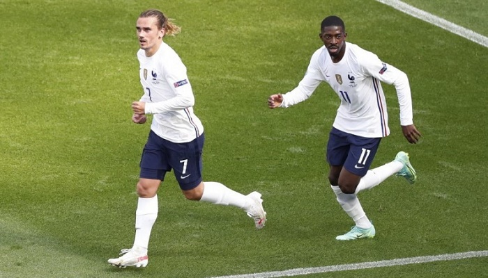 Griezmann rescues draw for France against Hungary