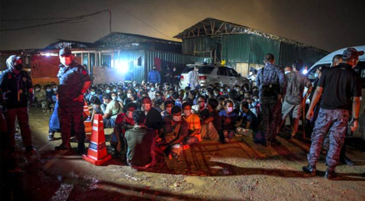 102 Bangladeshis detained in Malaysia
