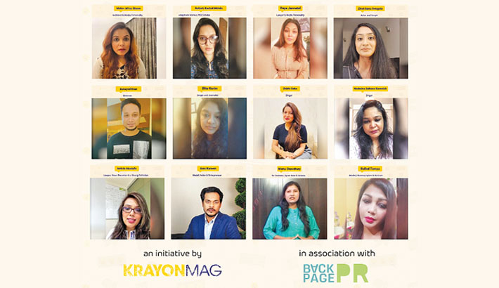 Celebs join KrayonMag campaign against cyber bullying