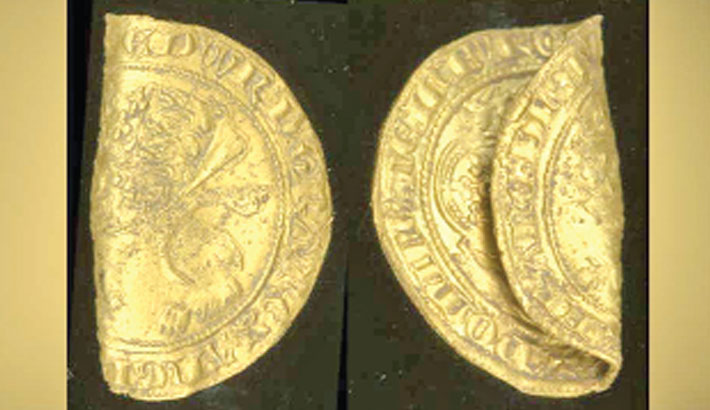 Rare 13th-century gold coins found in UK