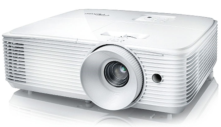 UBS launches Optoma projector