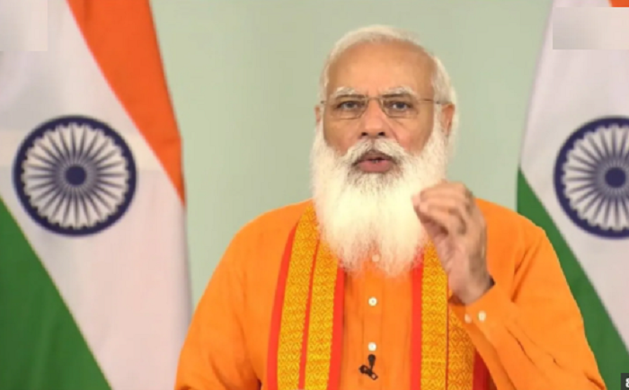Yoga remains 'ray of hope' as world fights Covid: Modi