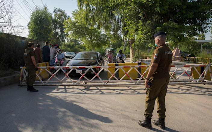 Police arrest Pakistani cleric accused of sexual assault