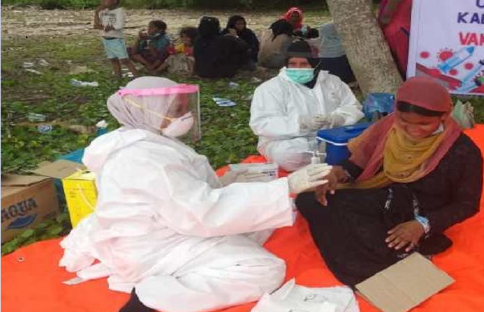 Rohingya vaccination depends on arrival of vaccines from COVAX