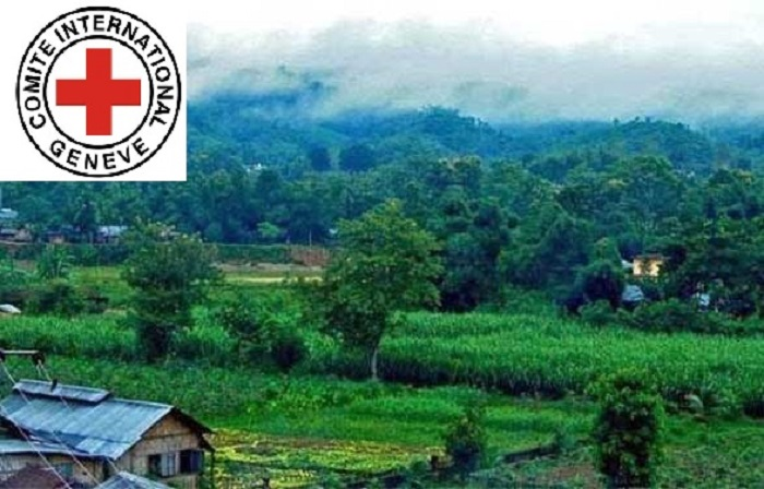 ICRC drive against corona pandemic in the south-eastern hills