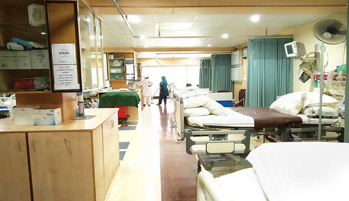 Less than 1 hospital bed allocated against 1,000 patients in country: Report