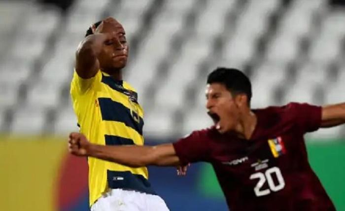 Last gasp Hernandez snatches Copa draw for Venezuela against Ecuador