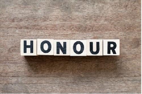 Where's the honour?