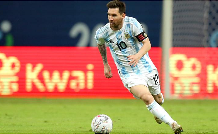 Lionel Messi equals Argentina's all-time appearance record