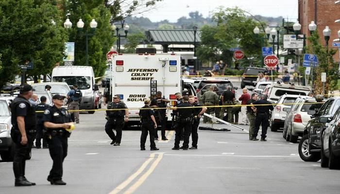 3 killed in Denver-area shooting, including officer, suspect