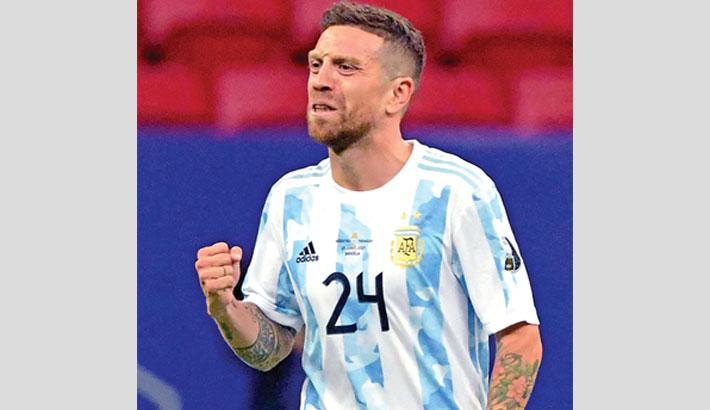 Argentina, Chile through to quarterfinals