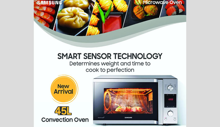 Samsung launches convection oven in Bangladesh