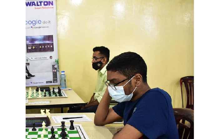 Fahad emerges champions in International Rating Chess