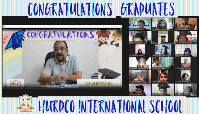 Preschool graduation ceremony 2020-21 held at HURDCO