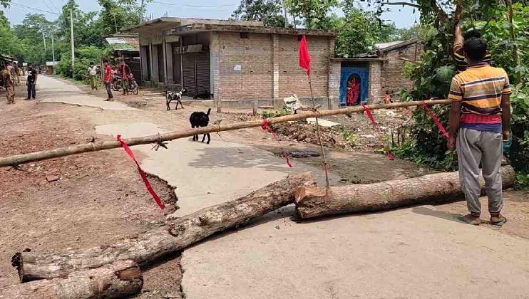 Week-long lockdown imposed in Jibannagar to curb Covid spread