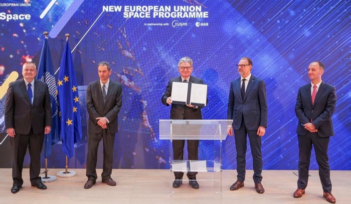 Lift-off for European Union's new space programme