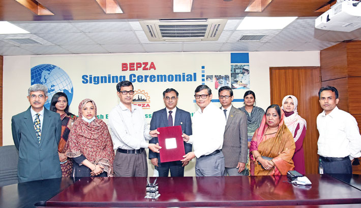 BEPZA signs MoU with Home Ministry to expedite one stop service