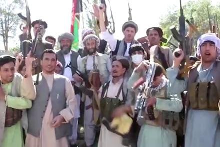 Citizens in Various Provinces Take Up Arms to Fight Taliban