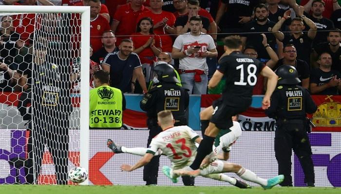Late Goretzka equaliser books Germany last-16 clash with England