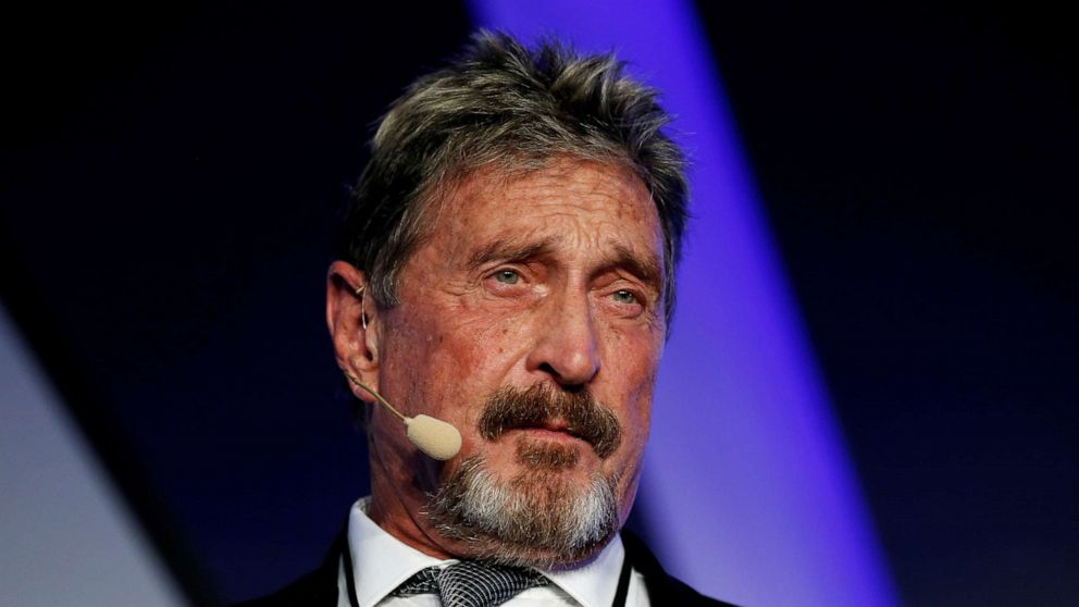 Antivirus founder McAfee found dead by suicide in Spanish jail