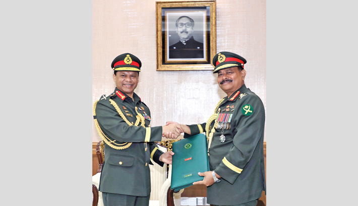 Farewell reception held for outgoing army chief
