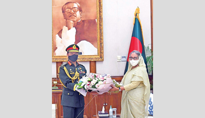 Shafiuddin takes charge as new army chief