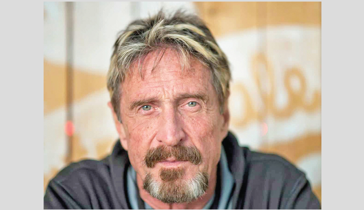 Antivirus pioneer McAfee found dead in Spanish jail