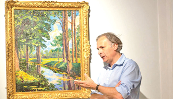 Churchill painting sold for $1.85m