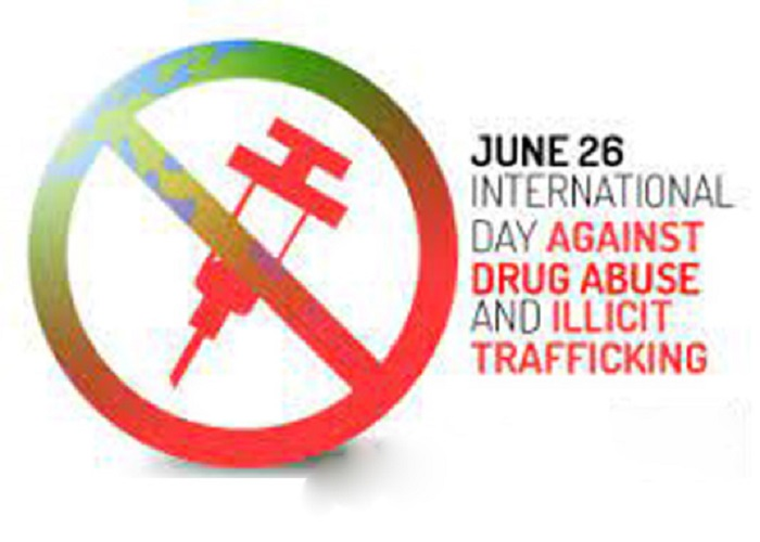 Int'l Day against Drug Abuse and Illegal Trafficking Saturday