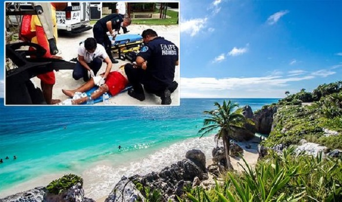 2 killed, 1 wounded in beach shootings in Tulum, Mexico