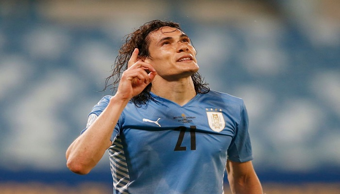 Cavani gives Uruguay first Copa win, Bolivia knocked out