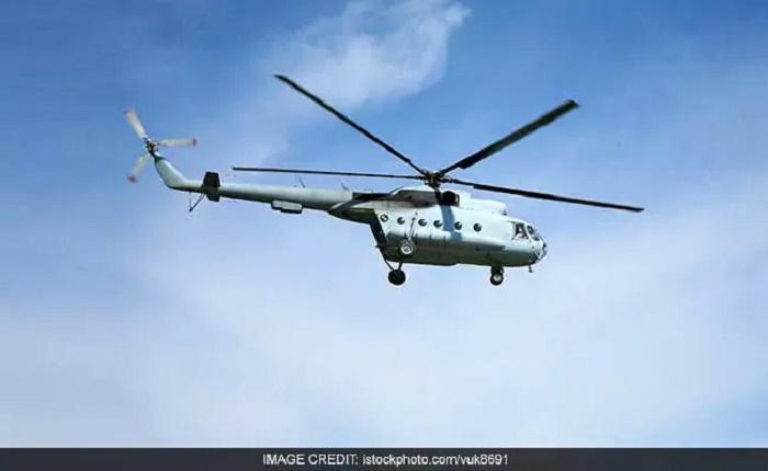 Russian military helicopter crash kills three