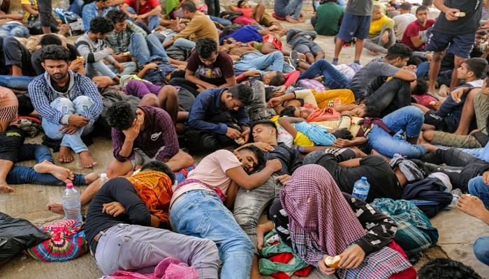 Tunisia rescues 267 migrants, mostly Bangladeshis, stranded at sea